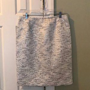 Calvin Klein tweed pencil skirt